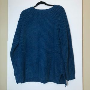 American Eagle Blue Large Soft Oversized Sweater